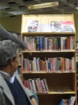 the One World Shelf in the City Library