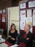 Trisha  and Mick enjoying the Volunteering Fair at NUI Galway 2010