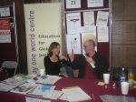 Trish & Mick at the NUI Volunteering Fair